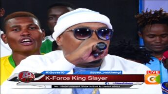 I'm among first Kenyan rappers to do Trap music - K-Force #10Over10